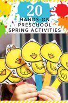 20 Hands-On Preschool Spring Activities