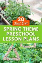 20 Best Ever Spring Theme Preschool Lesson Plans