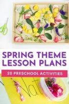 20 Spring Theme Preschool Activities
