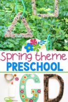 Spring Theme Preschool Lesson Plans