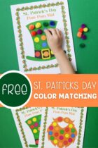 Free St Patrick's Day Color Matching