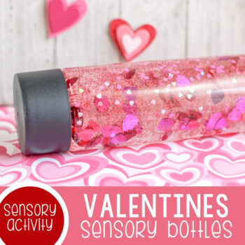 Valentine's Sensory Bottles featured square image.