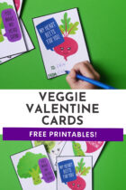 Free Printable Vegetable Valentine Cards