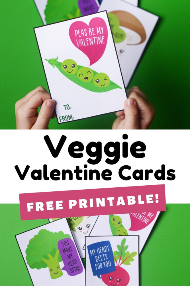 Veggie Valentine Cards Free Printable