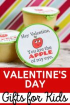 Valentine's Day Applesauce Gifts For Kids