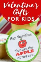 Applesauce Valentine's Gifts for Kids