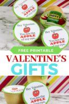 Free Printable Applesauce Valentine's Gifts