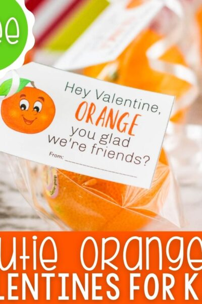 Cuties oranges Valentine gifts.