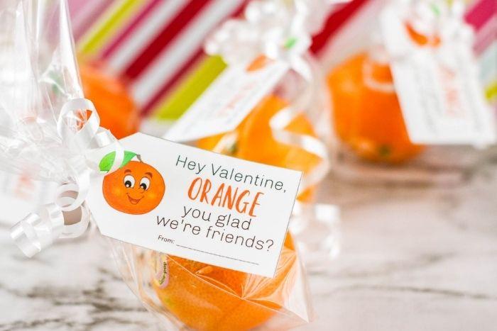 Cuties oranges Valentine gifts.