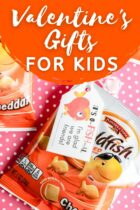 Valentine's Goldfish Gifts For Kids
