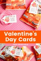 Free Printable Goldfish Valentine's Day Cards