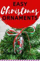 Easy Kid's Christmas Ornaments