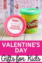 Valentine's Day Play Doh Gifts for Kids