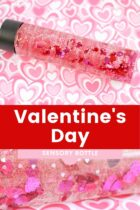 Valentine's Preschool Sensory Bottle Activity