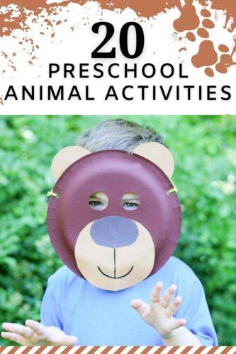 20 Preschool Animal Activities