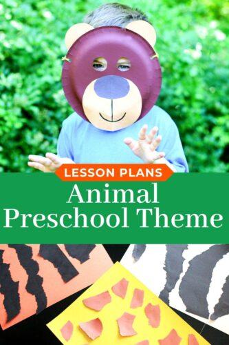 Preschool Animal Theme Lesson Plans
