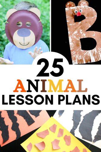 25 Animal Lesson Plans