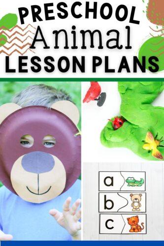 20 Preschool Animal Lesson Plans