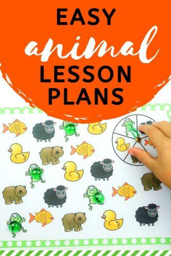 Easy Animal Lesson Plans