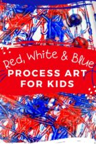 4th of July Mess-Free Art for Kids