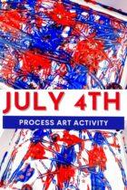 4th of July Art for Preschool