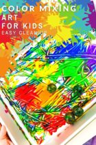 Color Mixing Art Activity for Kids