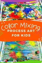 Color Mixing Process Art for Kids
