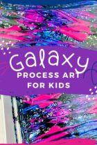 Galaxy Process Art for Kids