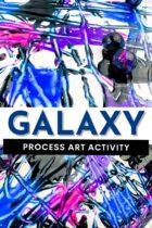 Galaxy Process Art Activity