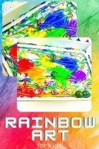 Rainbow Art Activity for Kids