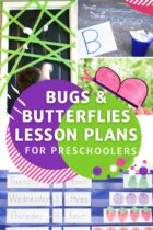 Bugs and Butterflies Lesson Plans for Preschoolers