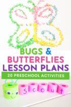 20 Bugs and Butterflies Preschool Activities