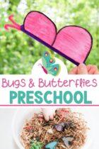 Preschool Bugs and Butterflies Lessons