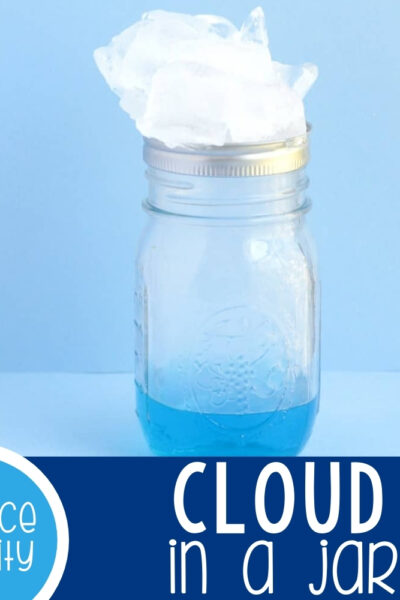 Cloud in a Jar Science Activity Featured Square Image