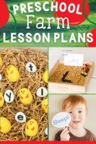 Preschool Farm Lesson Plans