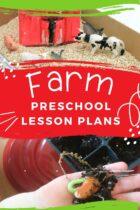 Farm Preschool Lesson Plans