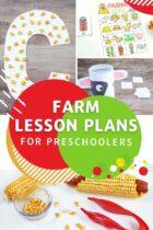 Farm Lesson Plans for Preschoolers