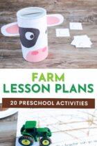 Farm Lesson Plans with 20+ Preschool Activities