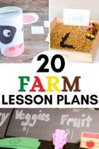 20 Farm Lesson Plans