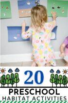 20 Preschool Habitat Activities
