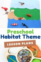 Preschool Habitat Theme Lesson Plans
