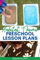 Habitat Theme Preschool Lesson Plans