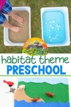 Preschool Habitat Theme Lessons