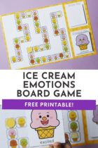 Ice Cream Emotions Board Game