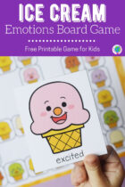 Ice Cream Emotions Board Game for Kids
