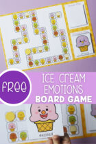 Free Ice Cream Emotions Board Game