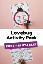 Free Printable Lovebug Activity Pack
