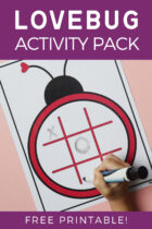 Free Lovebug Valentine's Day Activity Pack