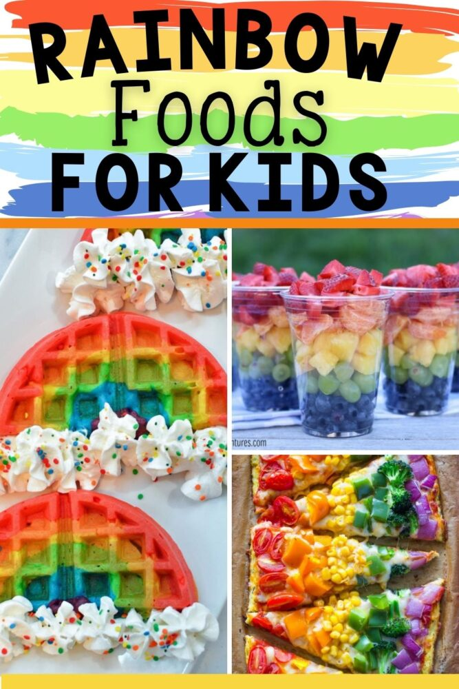 Best Rainbow Foods for Kids