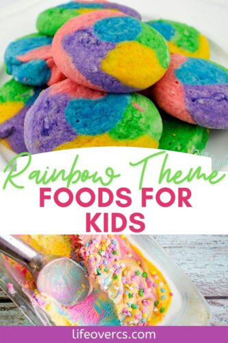 Rainbow Theme Foods for Kids